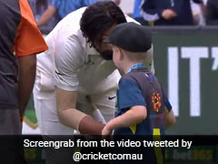 Watch: Archie Schiller Greets Indian Cricketers With Warm Handshake After Melbourne Test