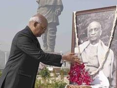 President Kovind Visits Statue Of Unity On Sardar Patel Death Anniversary