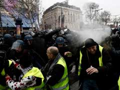 Police Teargas 'Yellow Vest' Protesters In Paris