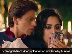 Zero Song Heer Badnaam: कैटरीना के नखरे झेलते दिखे शाहरुख खान, आखिर में खाने पड़े धक्के... देखें Video