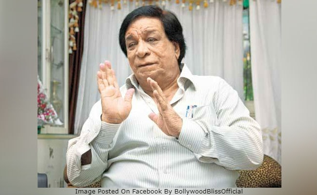 Kader Khan Reportedly Hospitalised In Canada. 'Prayers And Dua,' Tweets Amitabh Bachchan