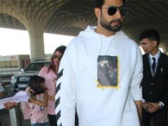 Aishwarya Rai Bachchan, Abhishek And Aaradhya Take Off For New Year's Vacation