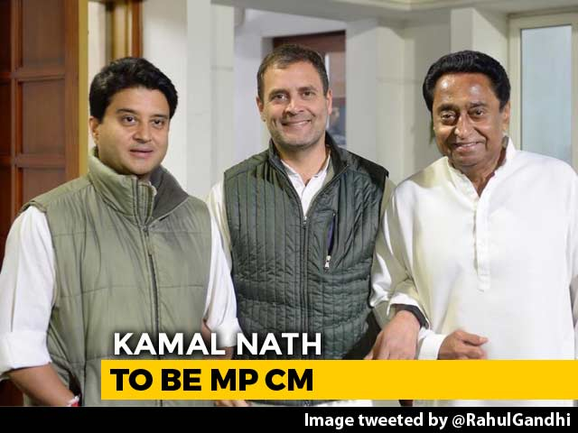 Video : Kamal Nath For Madhya Pradesh, Jyotiraditya Scindia May Get Delhi Role