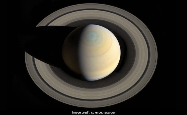 Saturn's Rings Are Already Halfway To Their Death