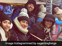 Sagarika Ghatge's Vacation Pics With Zaheer Khan, Yuvraj Singh, Hazel Keech And Others Will Give You Major Travel Goals