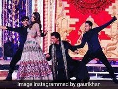 शाहरुख की पत्नी गौरी खान ने ईशा अंबानी की शादी में किया जोरदार डांस, Video देख कहेंगे OMG !