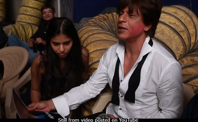 Shah Rukh Khan Reveals Why His Daughter Suhana Was On Zero Sets