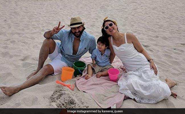 तैमूर अली खान पापा सैफ और मम्मी करीना संग यूं छुट्टियां मनाते आए नजर, देखें Viral Video