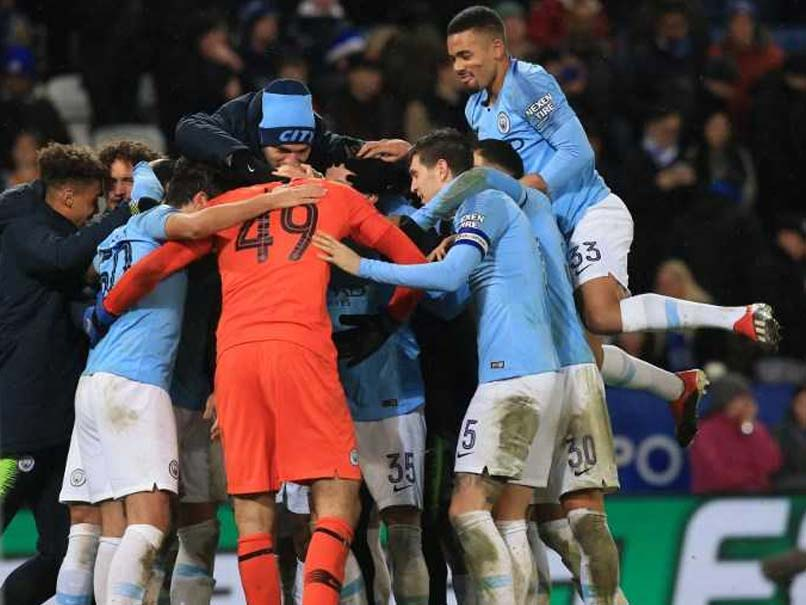 Manchester City Survive Shoot-Out To Reach League Cup Semis