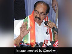 Congress Leader Veerappa Moily Among Writers To Receive Sahitya Akademi Award