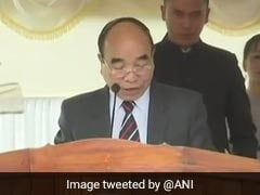 Zoramthanga Sworn In As Mizoram's New Chief Minister