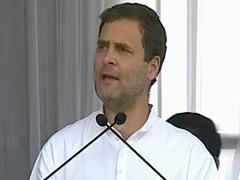 कांग्रेस अध्यक्ष राहुल गांधी बोले - मोदी के भारत में ईवीएम के पास रहस्यमयी शक्तियां