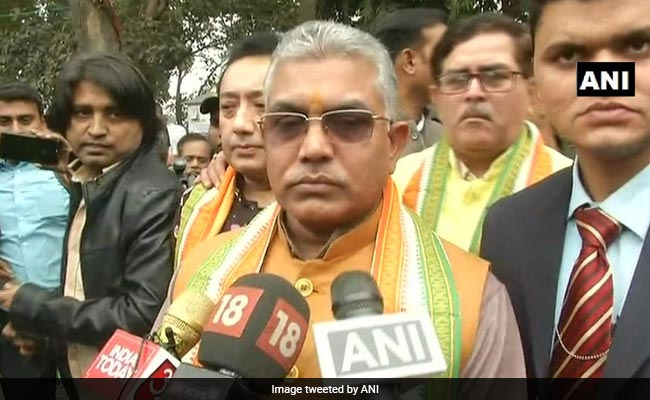 Aadhaar, PAN Cards Not Proof Of Citizenship: Dilip Ghosh