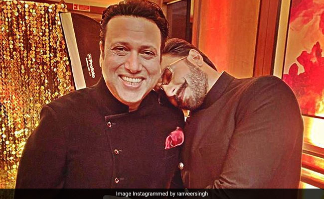 On Govinda's 55th Birthday, Ranveer Singh And Raveena Tandon Post Wonderful Pics With 'Hero No 1'