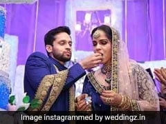 Saina Nehwal Parupalli Kashyap Wedding Reception Cake Looked As Regal As The Couple! (See Pics)