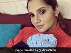 Sania Mirza Tweets Picture With Son, Says Difficult To Stay Away From Him