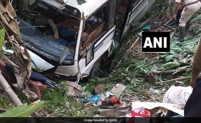 30 Injured After Bus Falls Into Gorge In Tripura