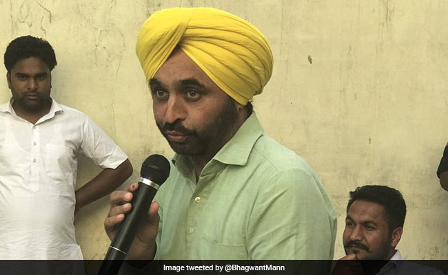 How Can We Face The Public If We Ally With Congress: Bhagwant Mann
