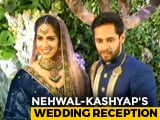 "Video : ""Best Match Of My Life"": Saina Nehwal Gets Married To Parupalli Kashyap"