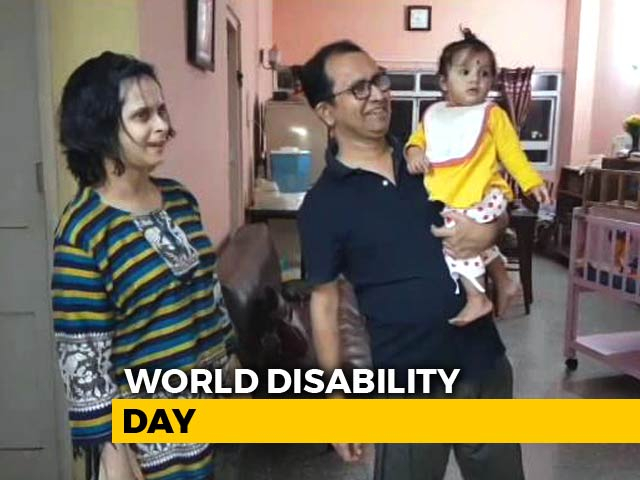Video : Disability Knows No Bounds. Kolkata Couple's Story Of Love, Struggle