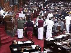Rajya Sabha Adjourns For The Day Without Any Business Transacted