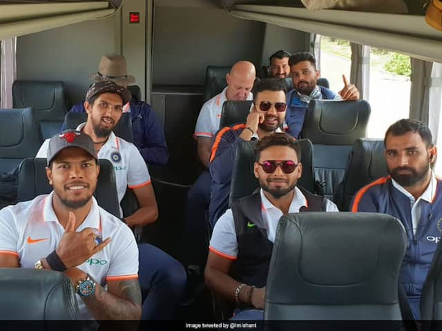 Team India Arrive In Adelaide For Test Series Opener Against Australia