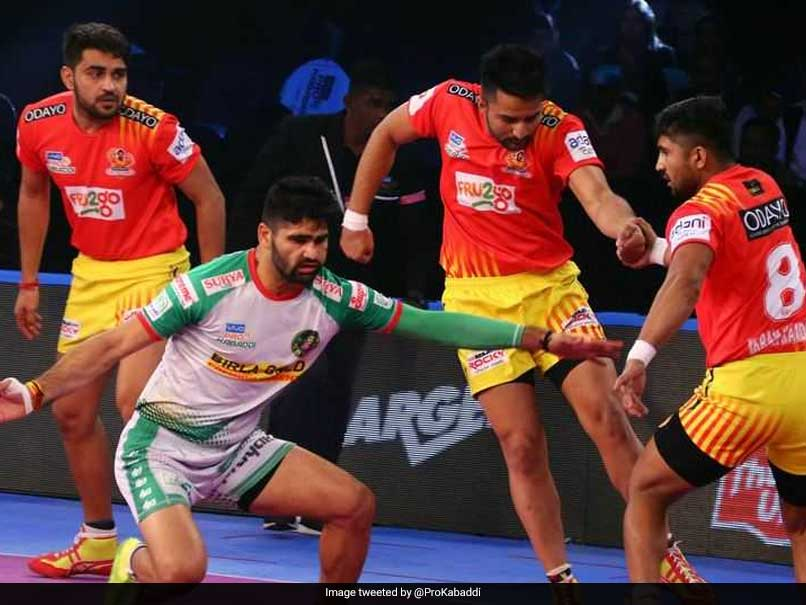 Pro Kabaddi League: Gujarat Fortune Giants Edge Past Patna Pirates