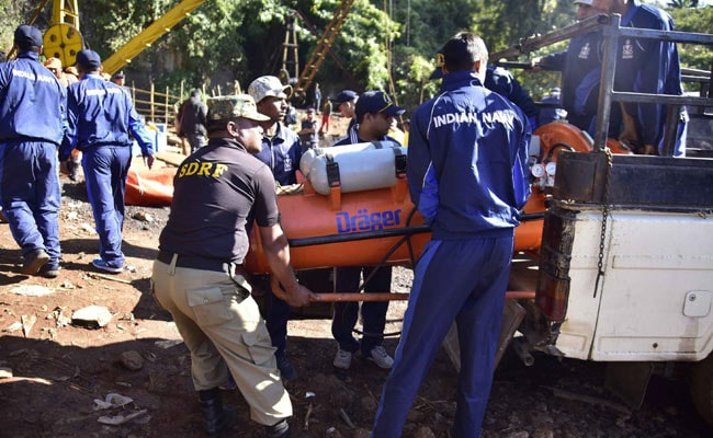 Meghalaya Miners' Rescue Operation: Navy Divers Reach The Bottom Of The Mine