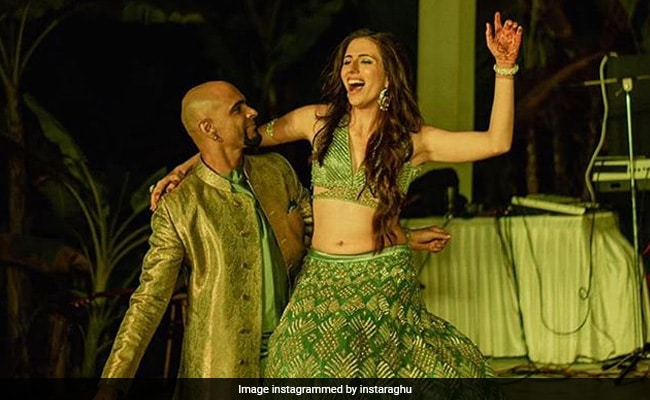Raghu Ram And Natalie Di Luccio Share Stunning Photos From Their Sangeet Ceremony