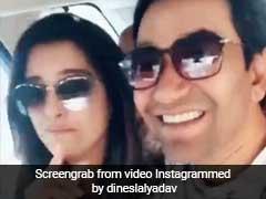 आम्रपाली दुबे की सिर में हुआ तेजदर्द, 'राजाजी' निरहुआ से कुछ यूं मांगी दवा... देखें Video