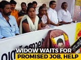 Video : After Husband's Death, 26-Year-Old Woman Protests At Kerala Secretariat