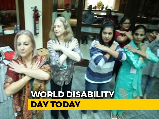 Video : UN's Pledge On World Disability Day