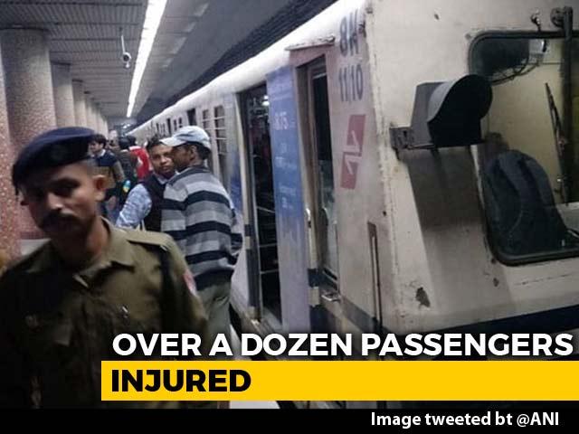 Video : 16 Passengers Fall Ill After Fire Onboard Kolkata Metro, Evacuated