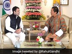 """Relationship That Endured Test Of Time"": Rahul Gandhi Meets Bhutan's PM"