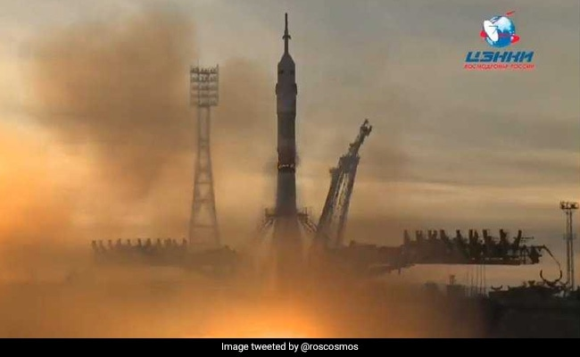 Soyuz Successfully Coupled to the ISS in First Manned Flight after Accident