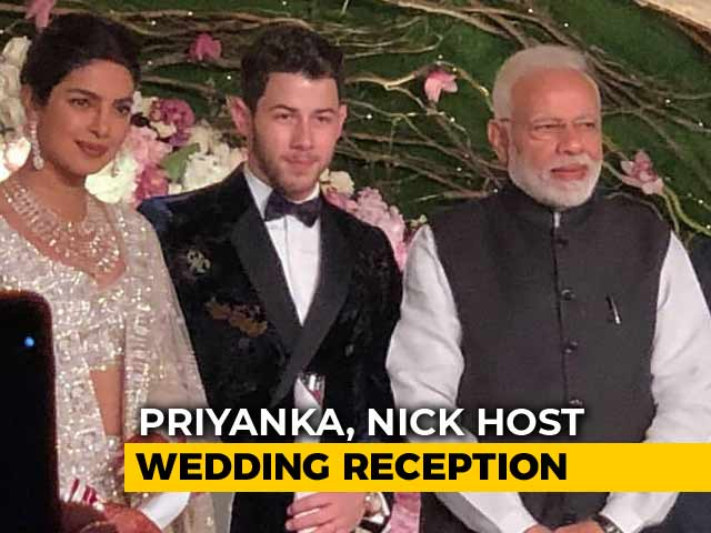 Priyanka Chopra And Nick Jonas' Delhi Reception: Yes, PM Modi Was There