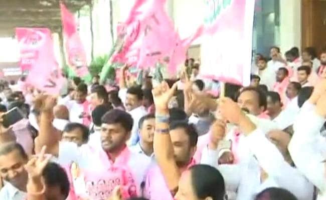 तेलंगाना चुनाव : केसीआर के भतीजे ने रिकार्ड जीत हासिल की, 1.20 लाख मतों से विजयी