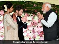 PM Modi Posts Pic With Priyanka Chopra And Nick Jonas, Wishes Them 'Happy Married Life'