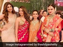 Inside Isha Ambani's Wedding: Shilpa Shetty, Gauri Khan, Sunita Kapoor And The 'One And Only' Rekha
