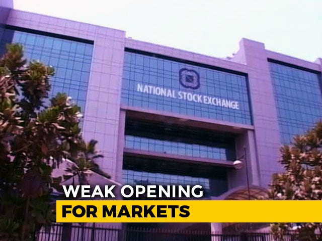 Video : Sensex Loses 185 Points, Nifty Below 10,850