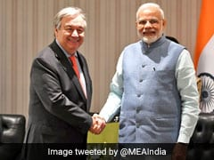 "India A ""Very Valuable Partner"" Of United Nations, Says Antonio Guterres"
