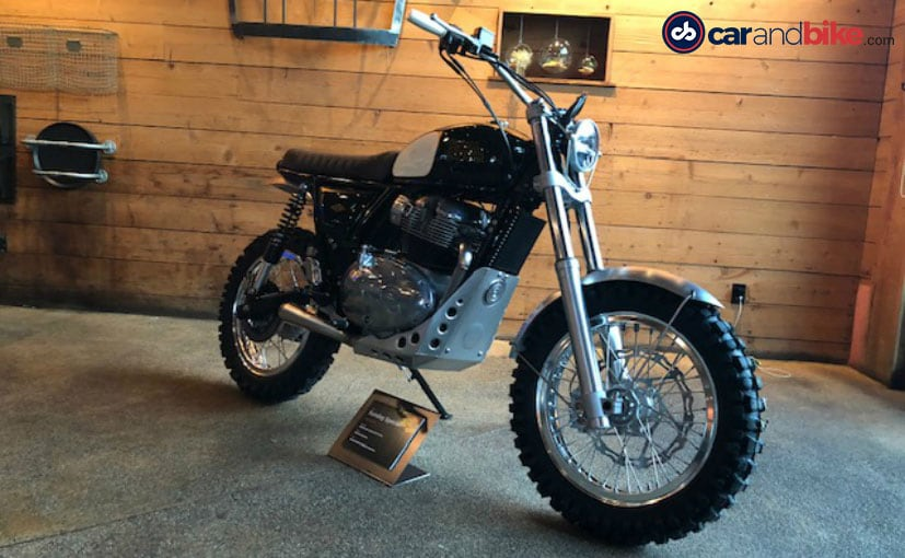 Royal Enfield could well introduce a Scrambler in the new 650 Twin platform