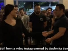 Sushmita Sen And Salman Khan's Dance Video From His Birthday Party Is Now Viral