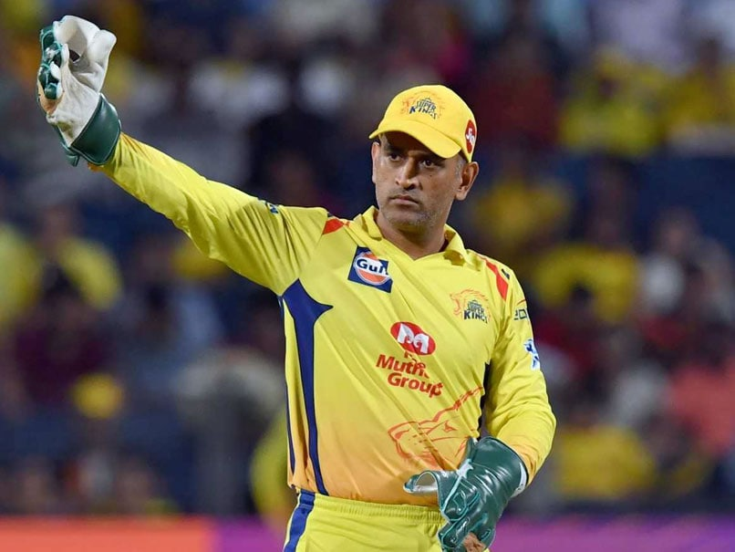 "Dhoni Csk Wallpapers Hd: IPL 2019: ""MS Dhoni"" Number Plate Found On Fan's Car In"