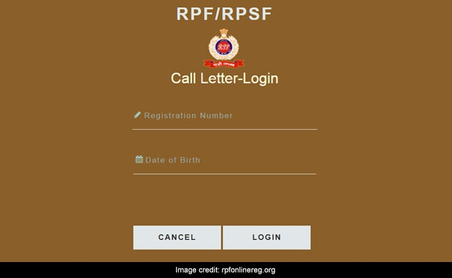RPF Constable Admit Card 2019 For Group A, B, F Candidates Released