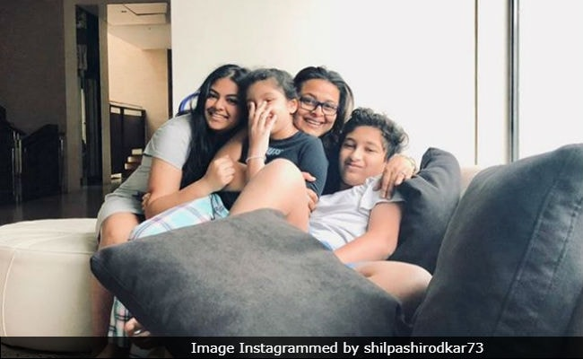 'Laughter And Smiles:' Shilpa Shirodkar Sums Up A Perfect Morning In A Pic Featuring Sitara, Gautham And Anoushka