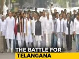 Video : Congress, Chandrababu Naidu's TDP Meet Governor To Pre-Empt Telangana Bid