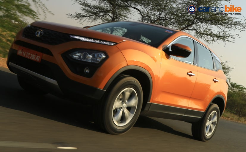 The Tata Harrier will compete with the likes of the Mahindra XUV500 and Jeep Compass
