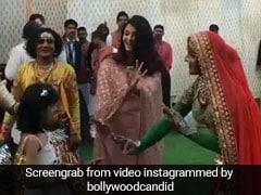 Isha Ambani Wedding: बेटी अराध्या ने किया 'राजस्थानी डांस' तो जोर-जोर से हंसने लगीं ऐश्वर्या राय, देखें VIDEO