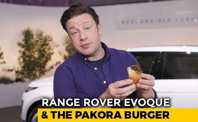 Video : Range Rover Evoque, Jamie Oliver And The Pakora Burger